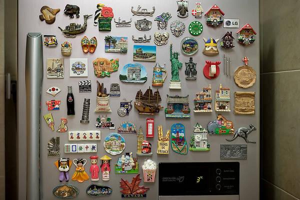 Calamite da frigorifero una delle collezioni oggi pi for Foto calamita fai da te