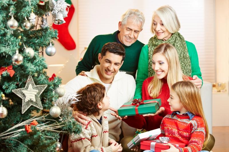 Foto Famigliare a Natale